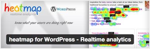 Heatmap for WordPress - Realtime analytics