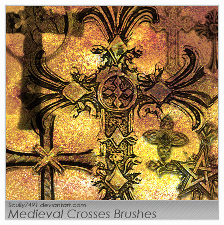 Medieval Crosses Brush