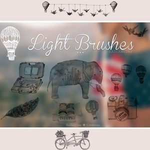Light Brushes