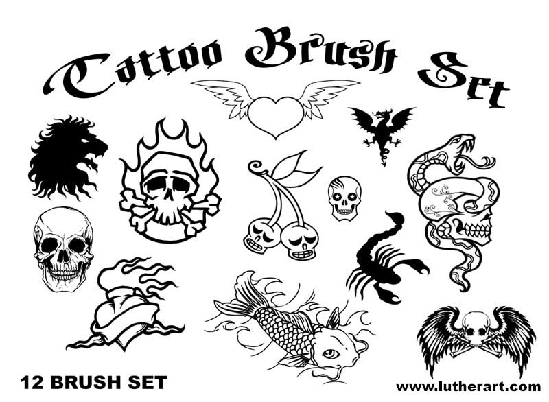 TATTOO Brush Set