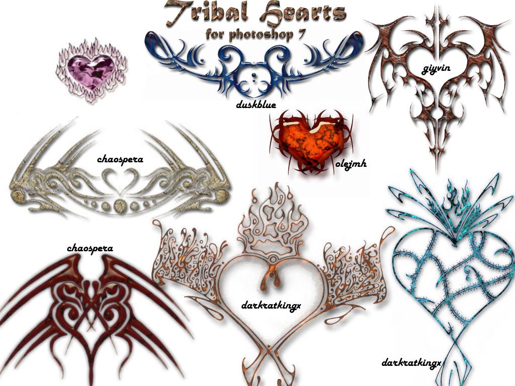 TribalHeart PS7 Brushes