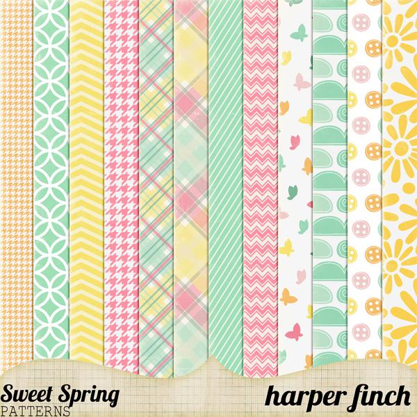 Sweet Spring Patterns