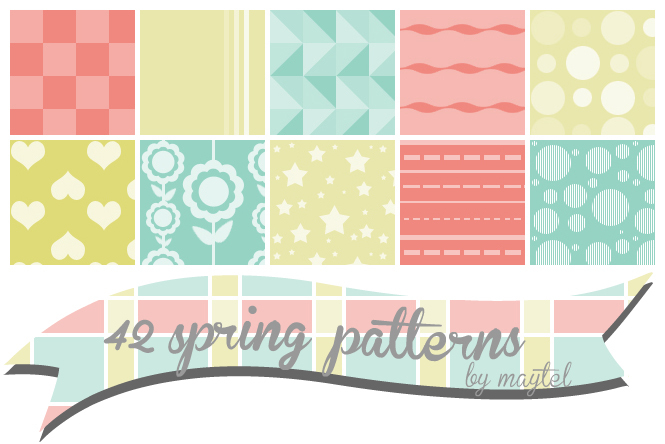 Spring patterns by maytel