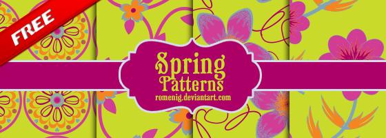Spring Flower Patterns