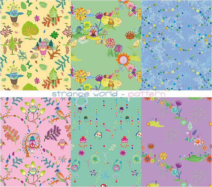 strange world - pattern