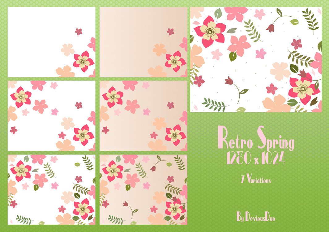 Retro Spring Pack