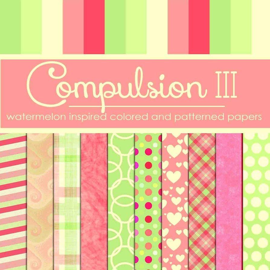 Compulsion III: Watermelon Inspired (Free)