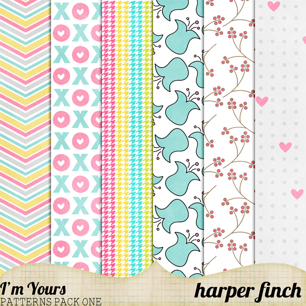 'm Yours Patterns Pack One