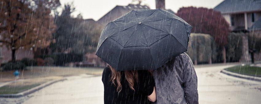写真に雨のエフェクトを加える方法