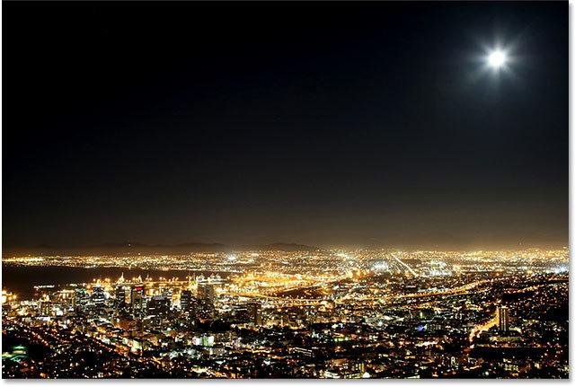 夜空にキラキラ輝く星を再現する方法