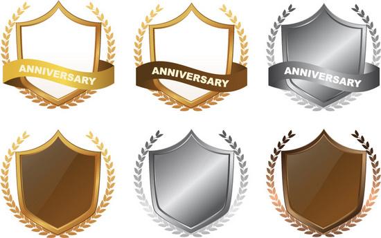 Anniversary Seals Badges