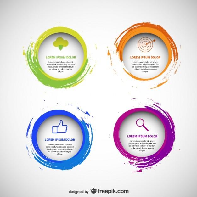 Circular templates pack