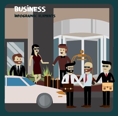 Business Infographic creative design 2090