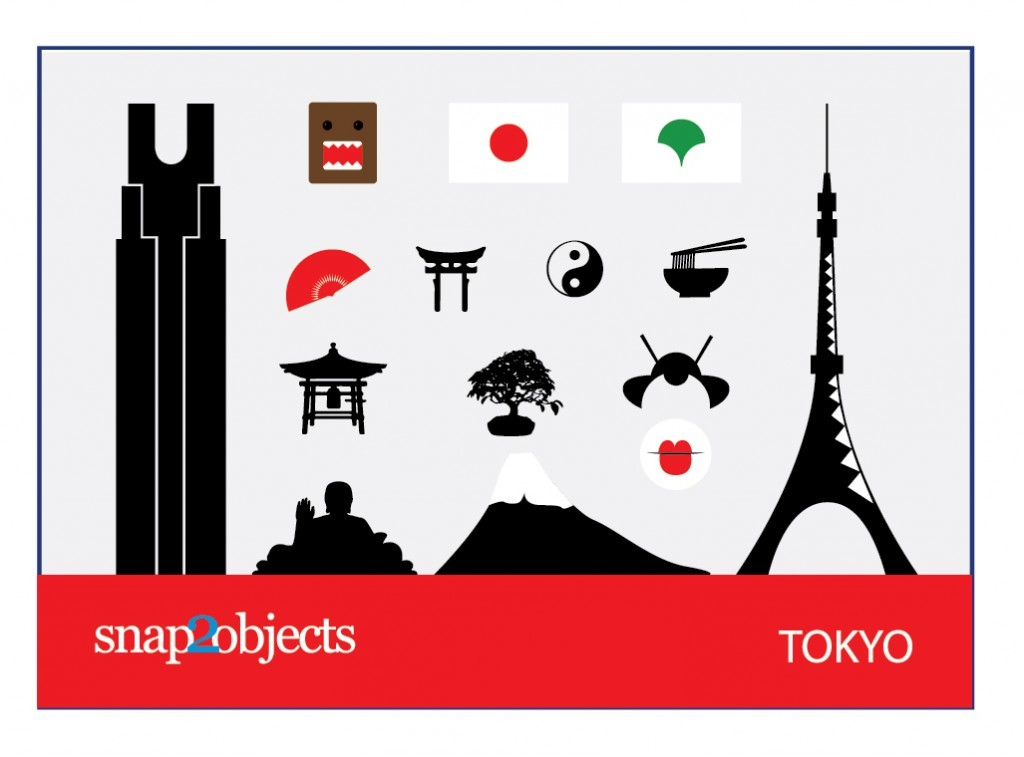 Free Vector Tokyo Icons