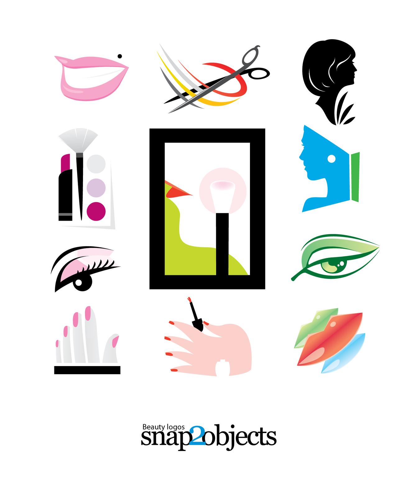 Free Vector Beauty Logo Templates