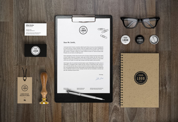 Branding / Identity Mockup vol.7ト