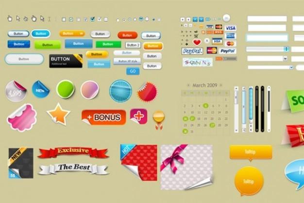 Web UIのデザイン要素