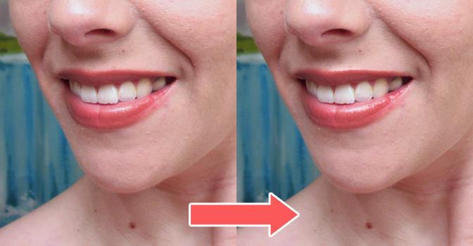 ツヤツヤの唇を再現する方法