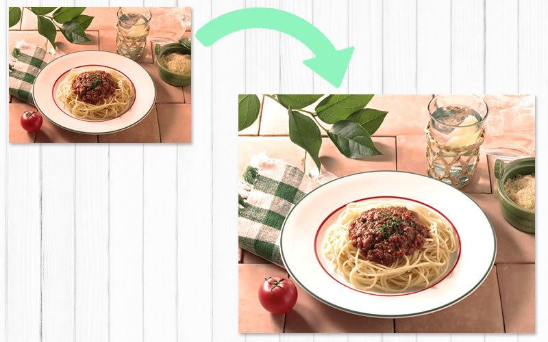 色かぶりした料理の写真を補正する方法
