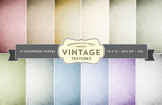 Vintage Scrapbooking Textures