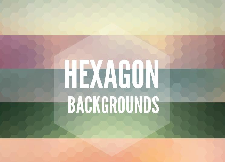Hexagon Background Pack 10枚