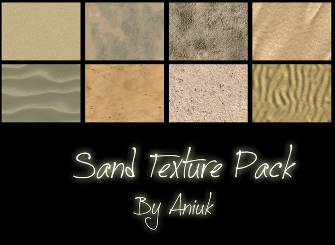 Sand Texture pack 8枚