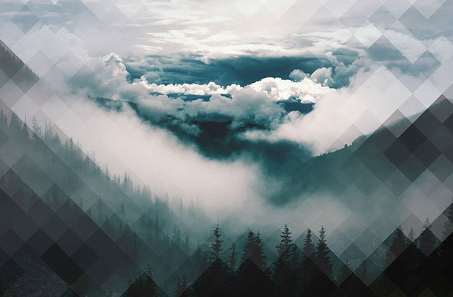 10 Polygonal Background Photos