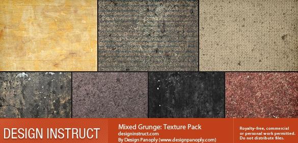 Mixed Grunge Texture Pack