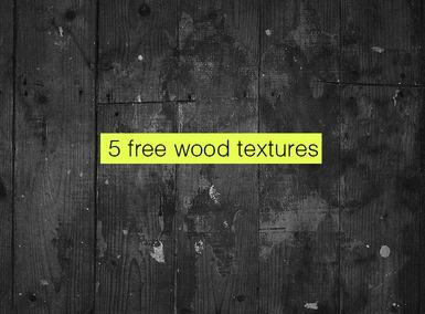 5 Vintage Wood Texture Backgrounds