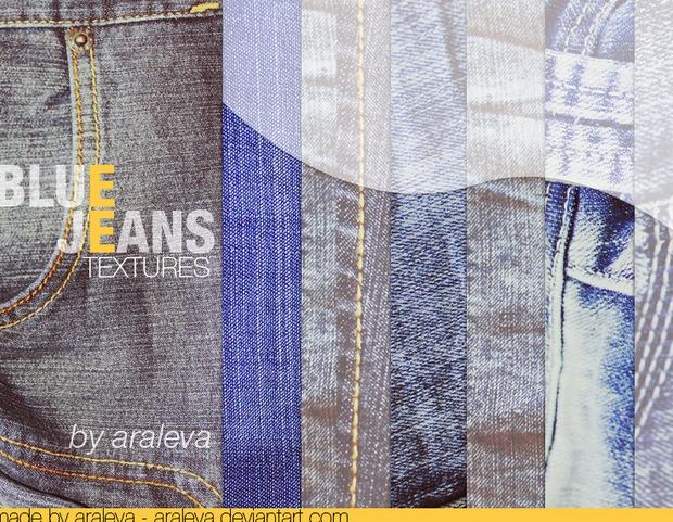 Blue Jeans Textures