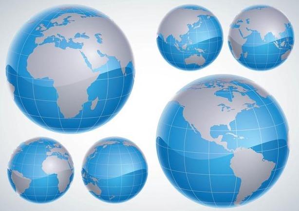 3d globes
