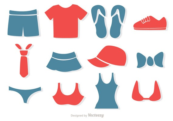 Simple Clothes Vectors Pack