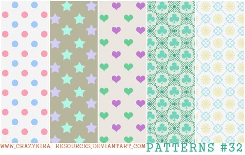 Patterns. 32