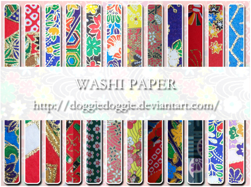 Washi Paper Patterns 2