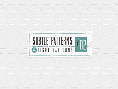 Subtle Light Tile Pattern