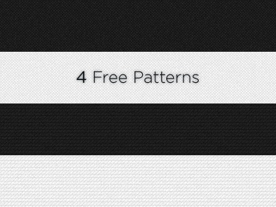 4 Free Patterns