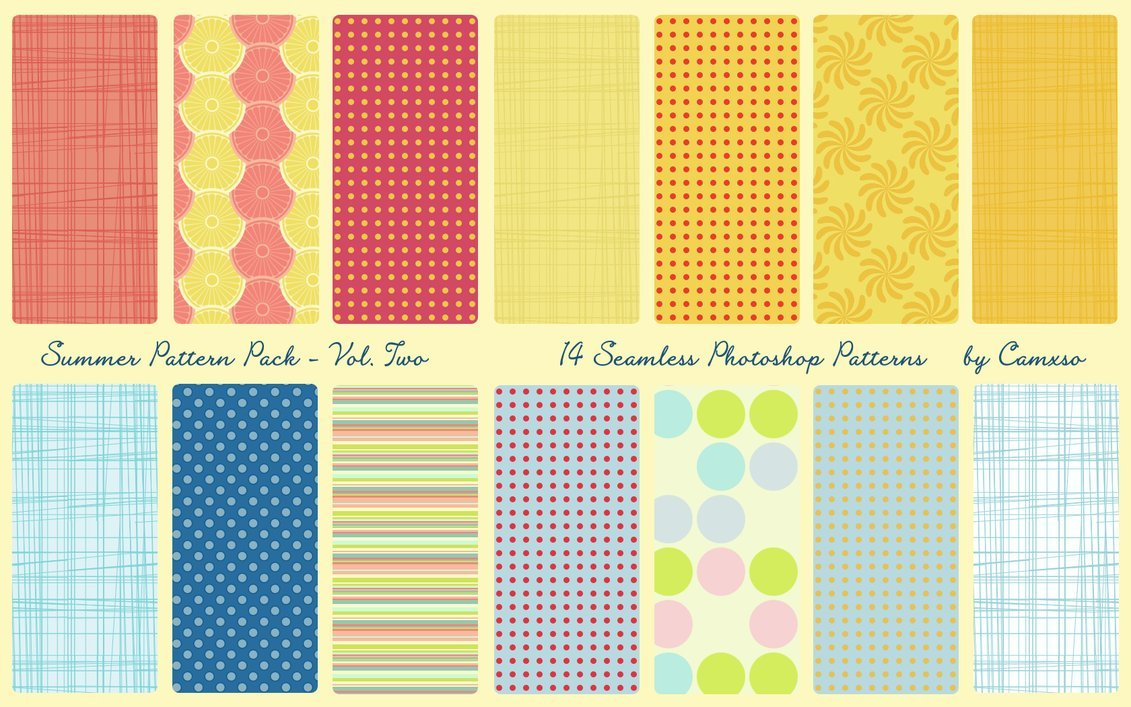 Summer Pattern Pack