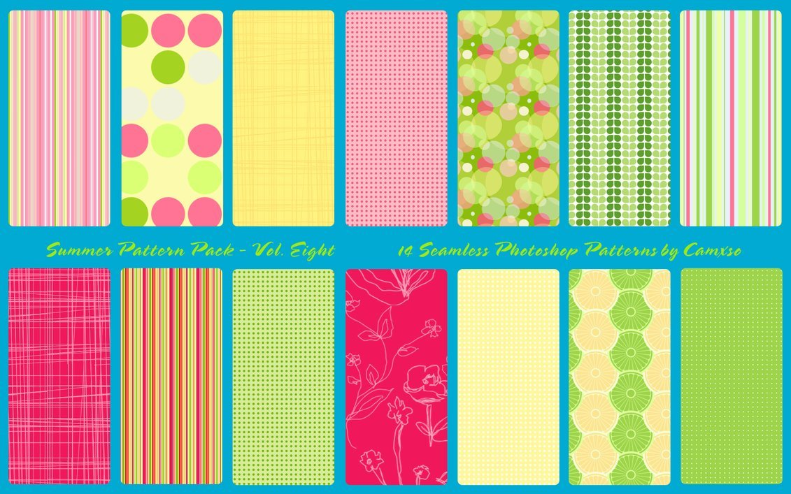 Summer Pattern Pack vol.8