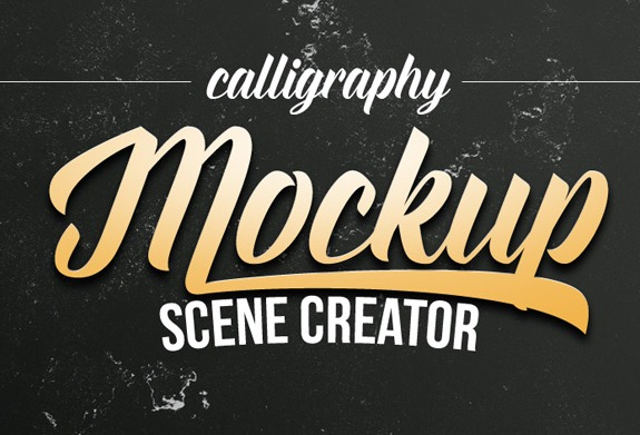 10.Calligraphy Scene Creator