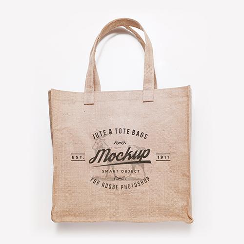Jute & Tote Bags Mockup