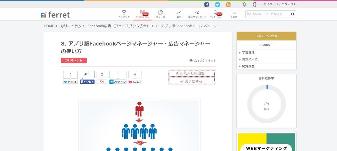 アプリ版Facebookページマネージャー・広告マネージャーの使い方