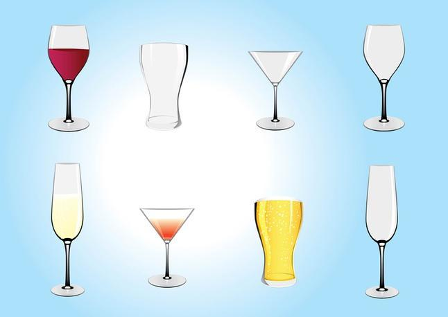 drinks illustrations