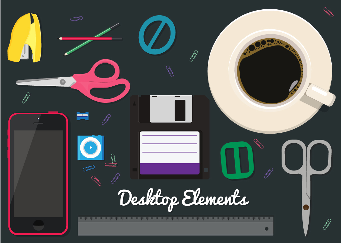 Free Desktop Vector Elements