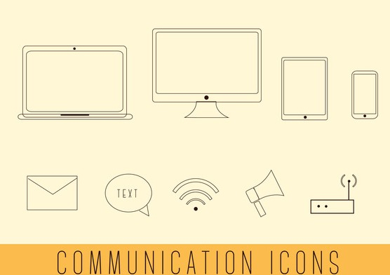 free simple communication vectors