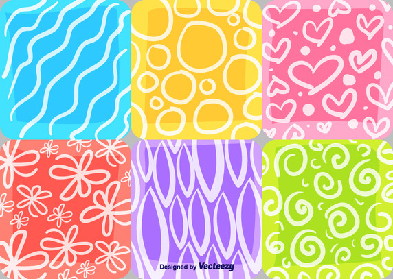 summer and spring mosaic patterns