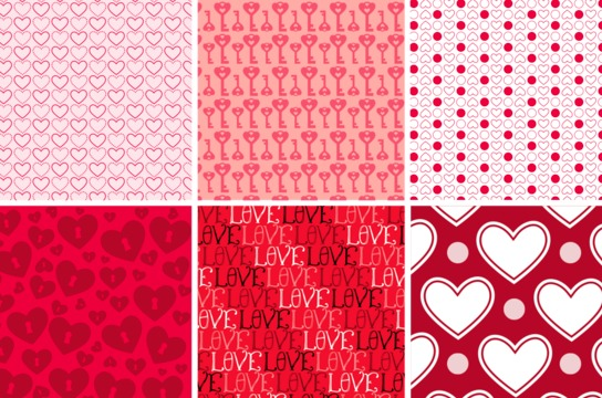 Love Background Patterns