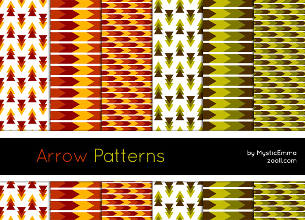 GOODIES: ARROW PATTERNS