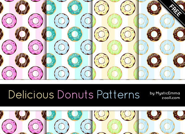 GOODIES: DELICIOUS DONUTS PATTERNS
