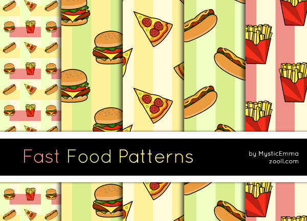 GOODIES: FAST FOOD PATTERNS