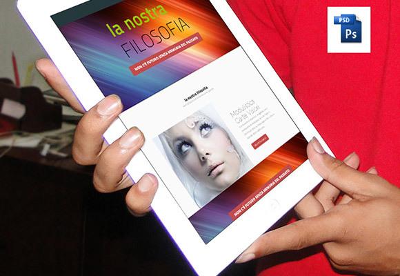 Free photorealistic iPad